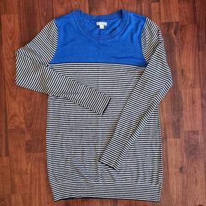 3/$25 Gap stirpes color block sweater